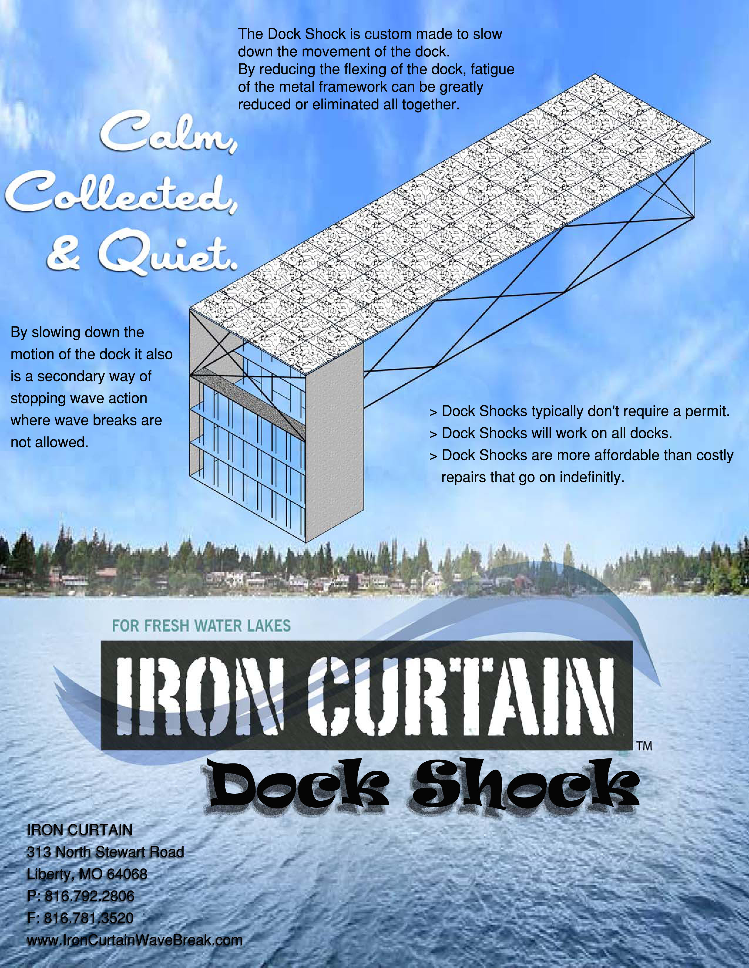 Iron Curtain Dock Shock
